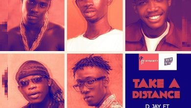 Photo of D Jay – Take A Distance Ft Black Sherif x Phronesis x Lalid x Malcolm Nuna (Prod. by Samsney)