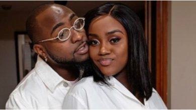 Photo of Davido´s wife Chioma responds to wife battering allegations