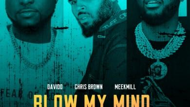 Photo of Davido – Blow My Mind (Remix) Ft Chris Brown x Meek Mill