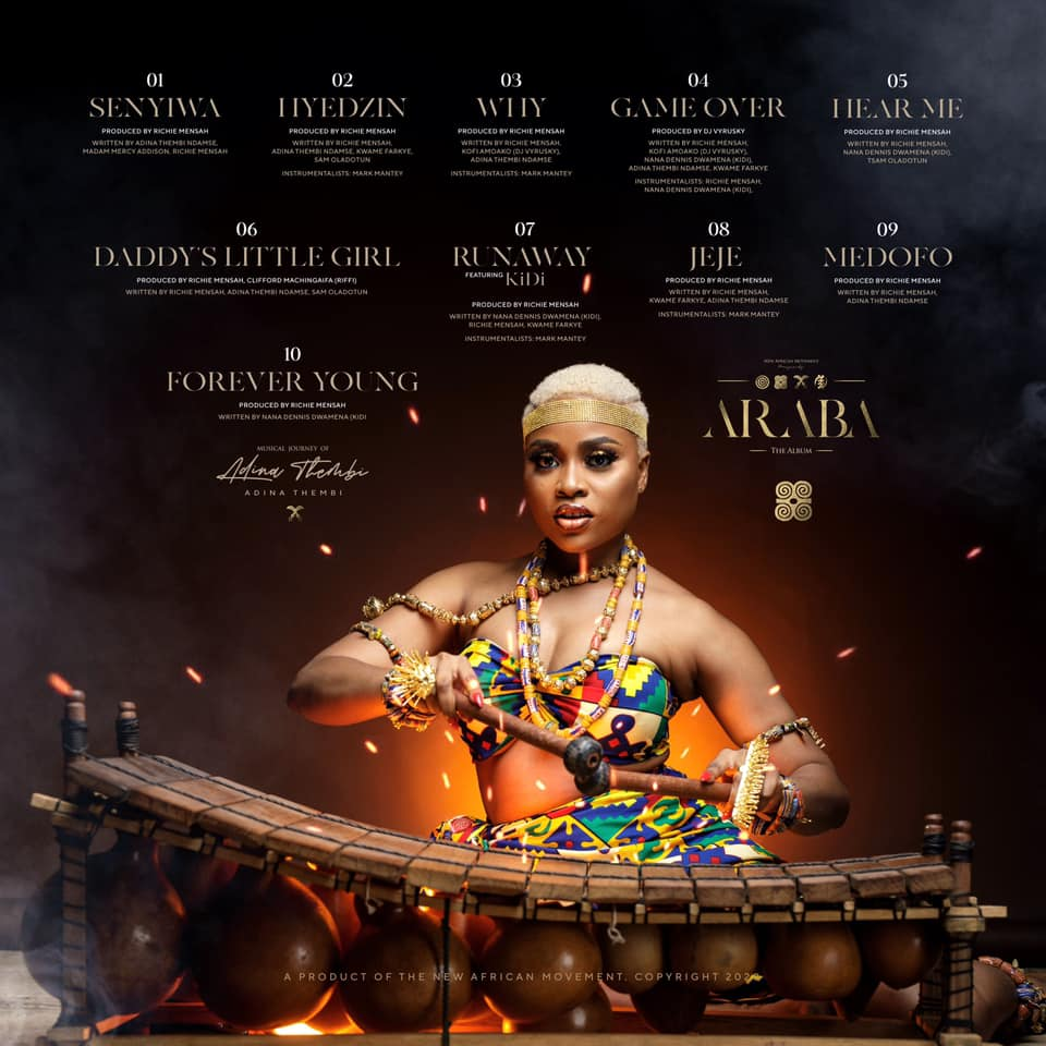 Adina – Game Over (Prod. by Richie Mensah)