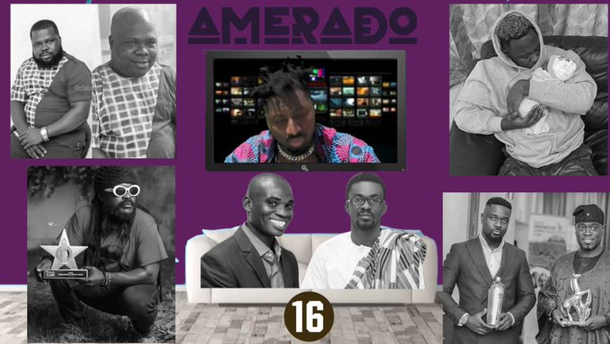 Amerado - Yeete Nsem (Episode 16) Ft Yazzi Sangari & Sherry Boss