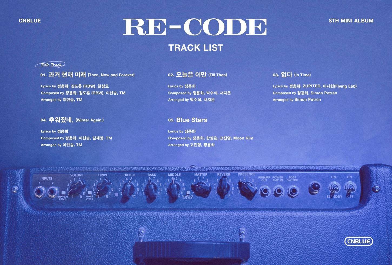 CNBLUE (씨엔블루) – RE-CODE (Zip Download) [Zippyshare + 320kbps]