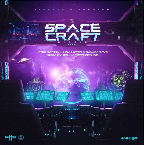 Vybz Kartel - New Moon Pon Saturn [Space Craft Riddim]