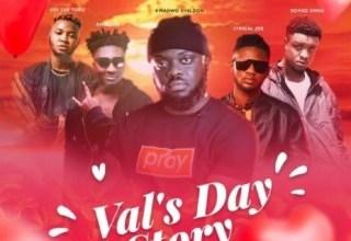 Photo of Kwadwo Sheldon – Val's Day Story ft Amerado, Lyrical Joe, Romeo Swag x Kev The Topic