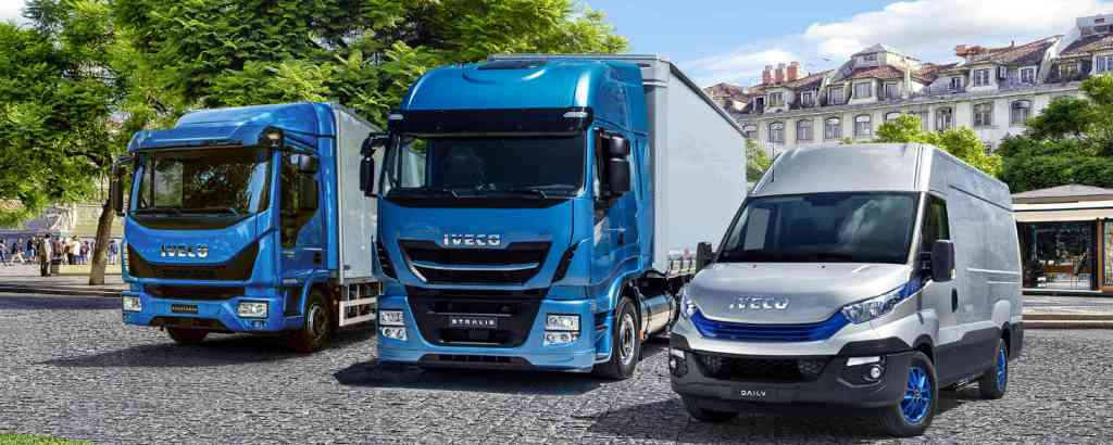 Iveco Natural Power range blue