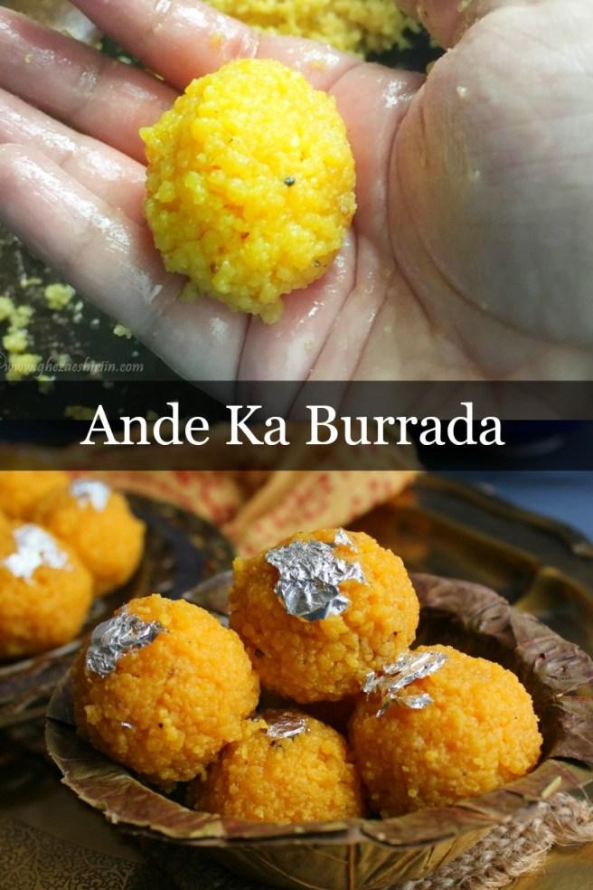 Ande Ka Burrada/Egg Burrada