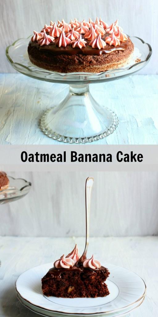 oat-banana-cake