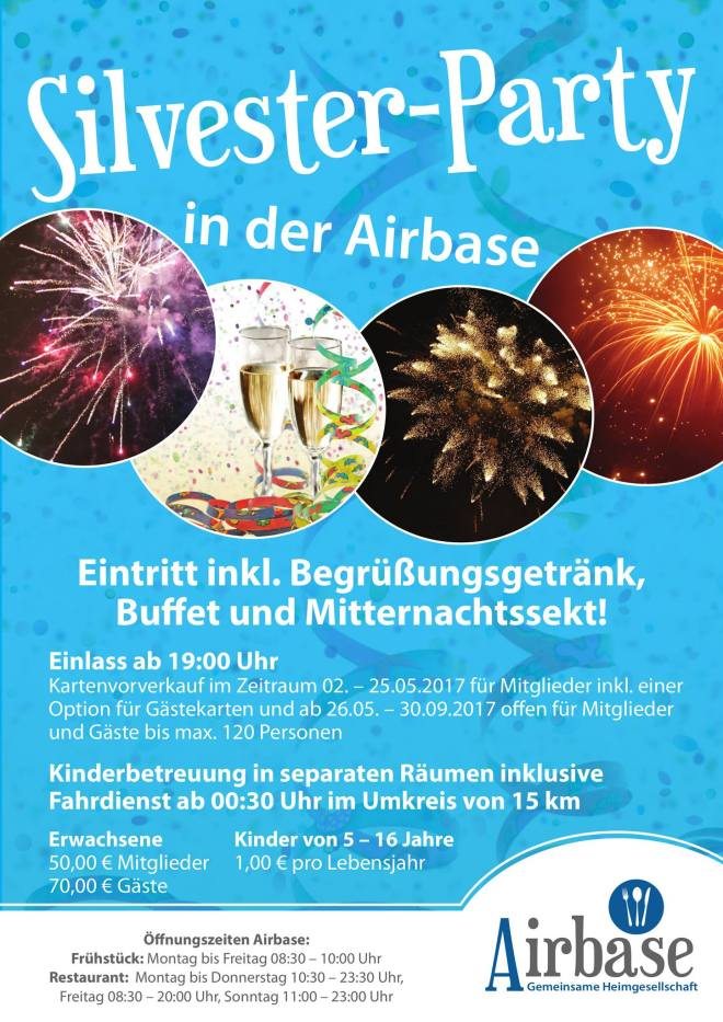 Silvesterparty in der Airbase
