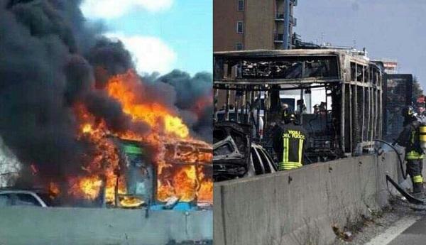 driver-kids-teachers-bus-ablaze-italy