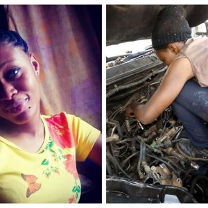 Photos: This Beautiful Girl Is A Mechanic & She's Trending