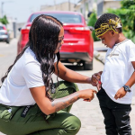 Nigerian Singer, Tiwa Savage Rents Entire Cinema For Son To Watch The Lion King
