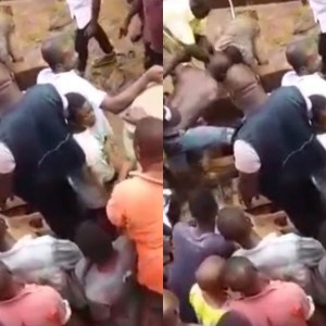 VIDEO: Depressed Man Jumps Into A Well To Commit Suicide