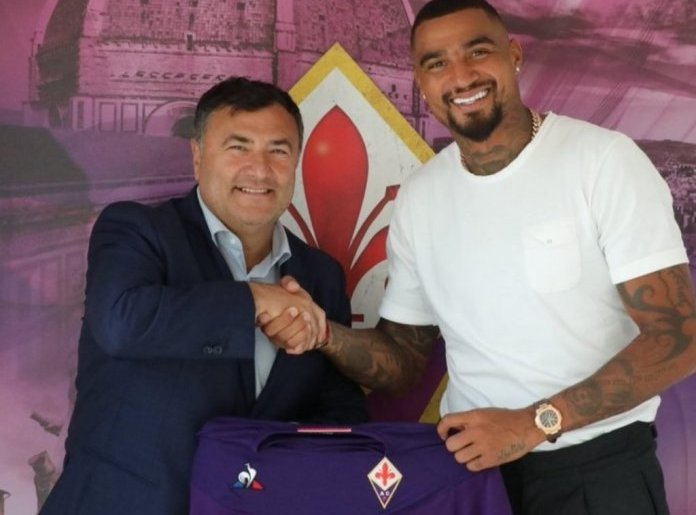 Kevin Prince Boateng unvelied by Fiorentina