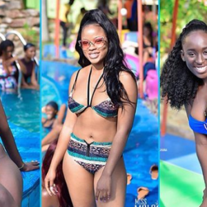 Photos: 2019 Miss Malaika Delegates Had A Pool Time And It Was A Bikini Showdown Of 28 Hot Girls; Here Are the Bikini Photos