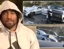 Jermain Defoe survives deadly car crash