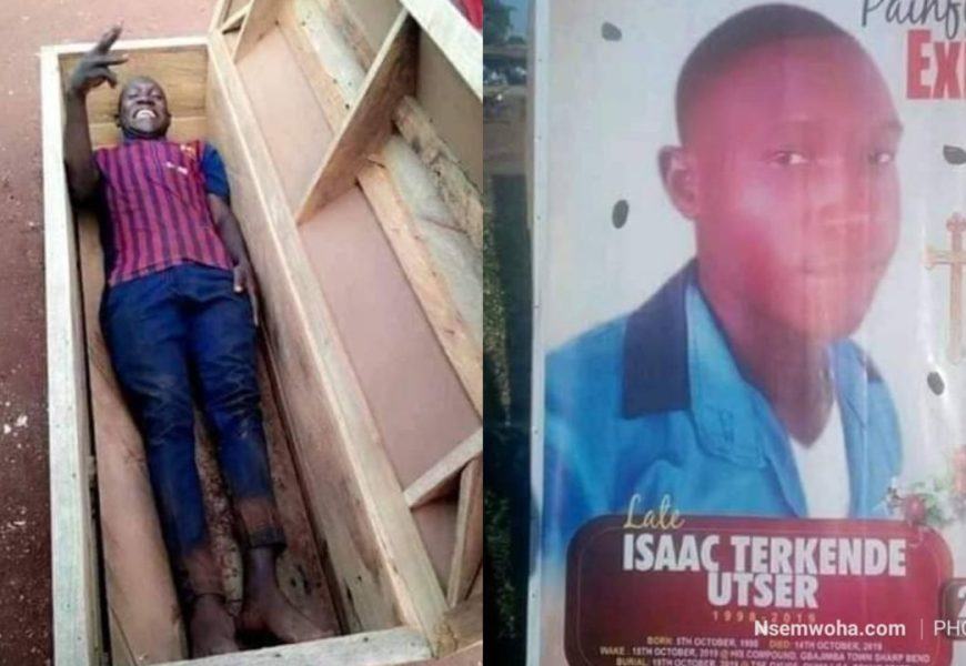 Man Dies A Day After Taking Photos Inside A Coffin (+Photos)