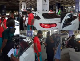Patoranking lands in Ghana ahead of Cardi B concert