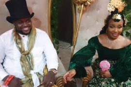 Davido's brother ties knot
