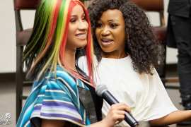 Cardi B and Akuapem Poloo