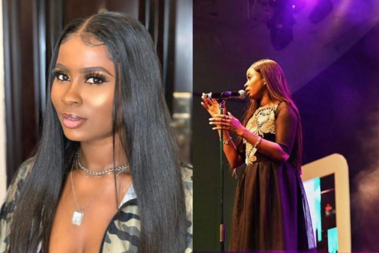 Ella performs at 2019 Miss Nigerian pageant show