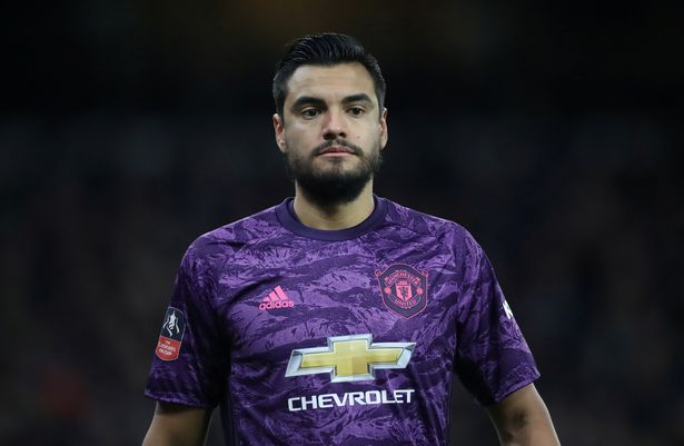 Manchester United goalkeeper Sergio Romero involved in an accident
