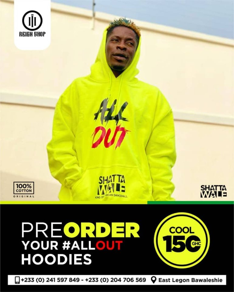CHECKOUT! Shatta Wale launches new clothing line 1