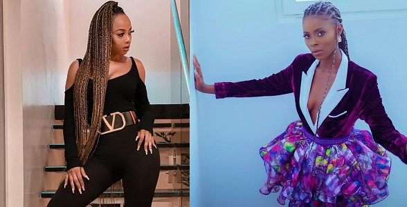 BBNaija Star Khloe Caught Begging Toke Makinwa For Clothes, Days After Warning People Not To Beg In 2020 - GH Gossip