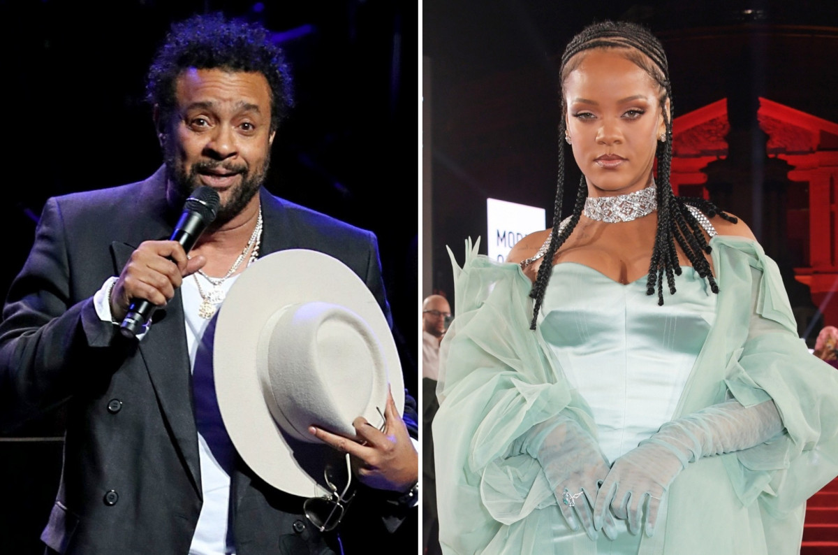 Shaggy declined to appear on Rihanna's new album