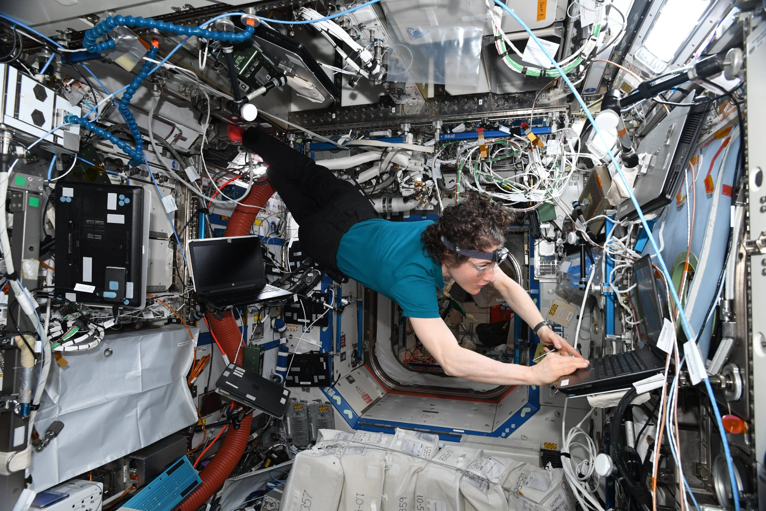 The scope of Christina Koch's work after almost a year in space