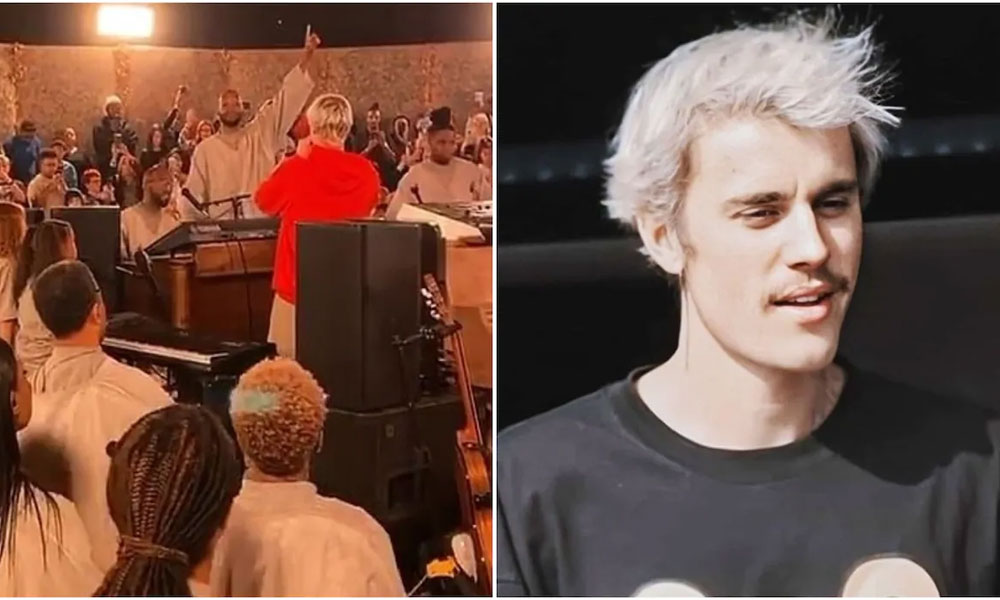 [Watch Justin Bieber perform at Kanye West's Sunday Service]