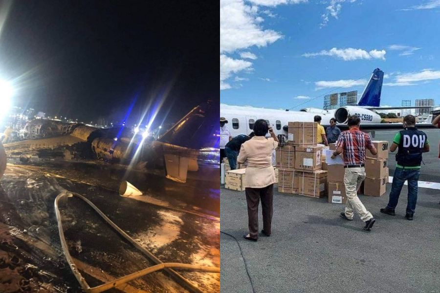 Lion Air plane crashes at NAIA