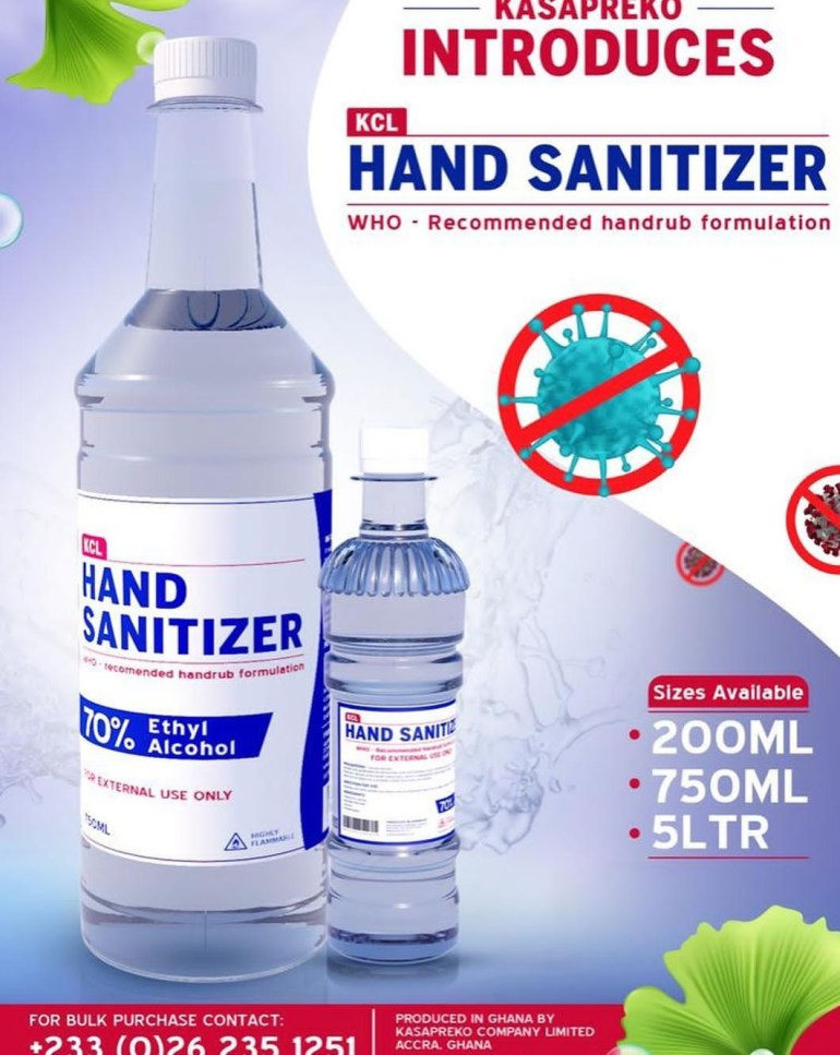 Screenshot 20200321 104941 - Kasapreko Brand Ambassador, Shatta Wale Outdoors New Kasapreko Hand Sanitizer