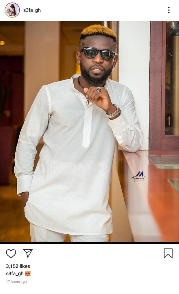 Sefa Bisa Kdei - It's Official! S3fa Confirms Dating Bisa KDei - See This Photo
