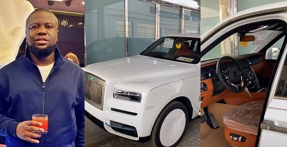 Hushpuppi Buys 2020 Rolls Royce Cullinan worth N125 million