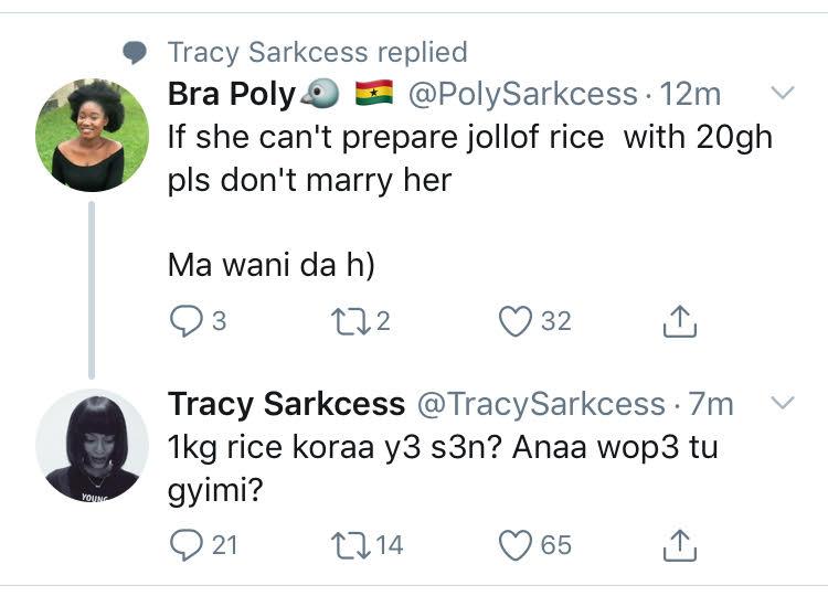 Trace Sarkcess reply