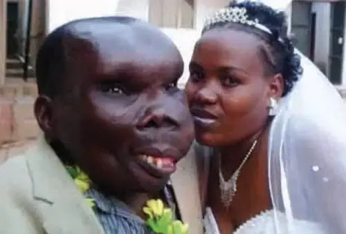 ugliest man and wife