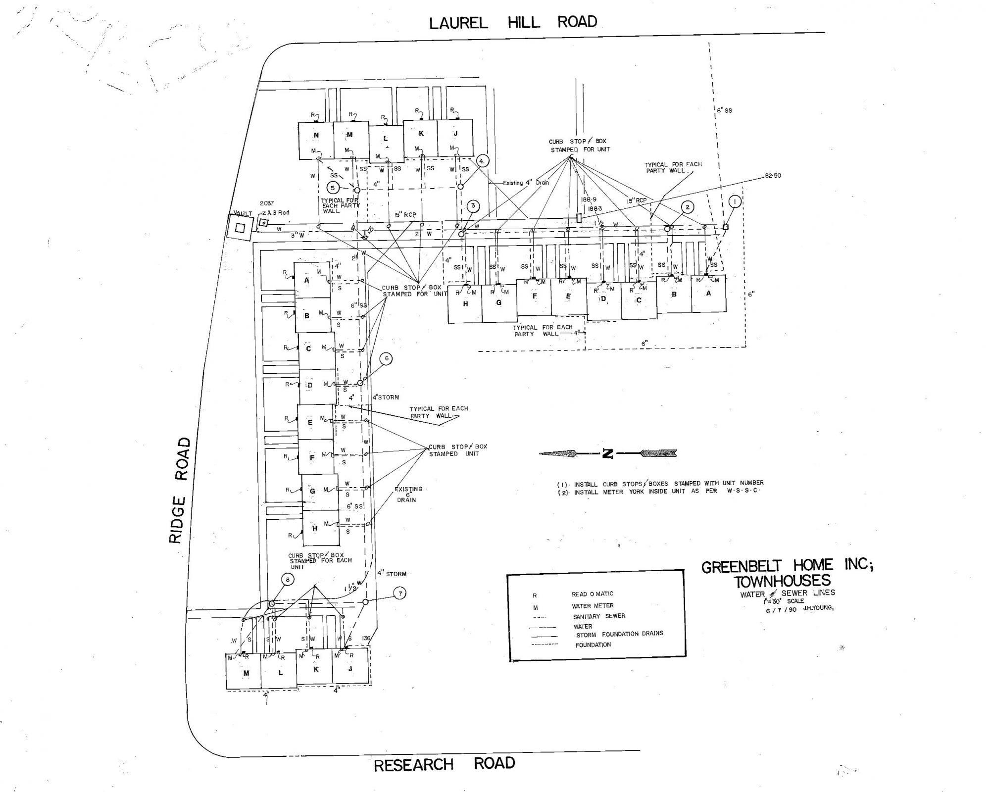GHI Underground Utilities: Water, Sewer, Storm