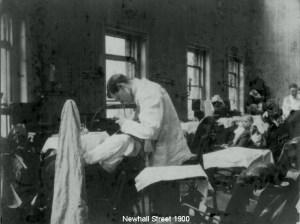 istorie dentist