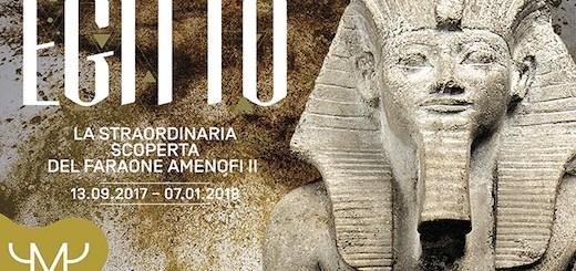 Mostra Amenofi II a Milano