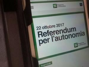 Domenica 22 ottobre referendum in Lombardia e Veneto (fonte immagine: altreconomia.it)