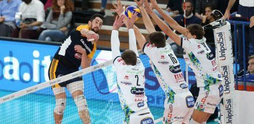 Ko di Trento nel derby dell'Adige contro Verona nella 6ª giornata di SuperLega