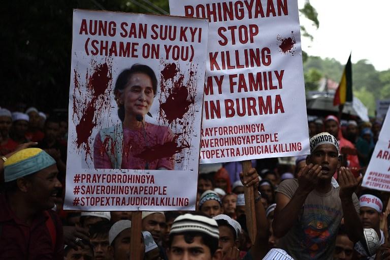 Myanmar: per l'etnia musulmana dei Rohingya sembra non esserci pace. (fonte immagine: AFP PHOTO / MANAN VATSYAYANA)