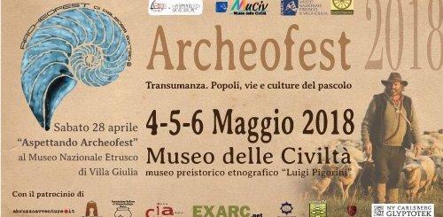 Archeofest 2018 museo Pigorini Roma