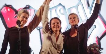 Bielorussia, Veronika Tsepkalo, Svetlana Tikhanovskaya e Maria Kolesnikova