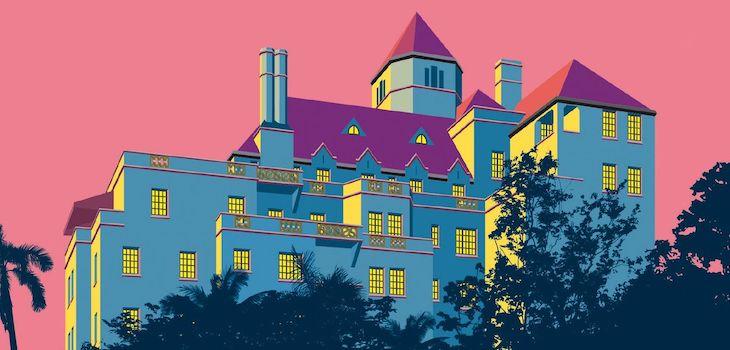 il castello di sunset boulevard