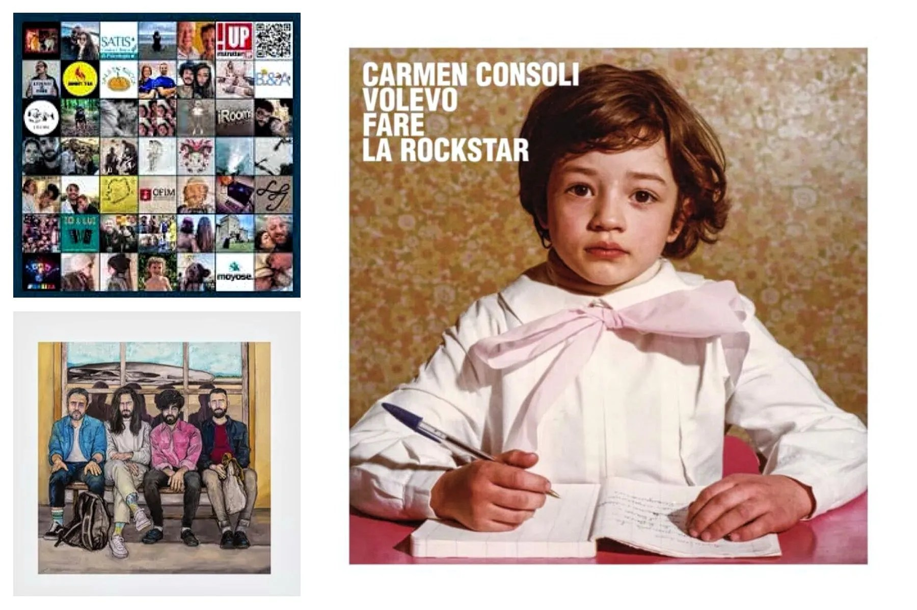 Carmen Consoli, Lorenzo Kruger, Fast Animals and Slow Kids