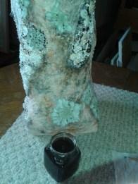 Tea and butternut dye