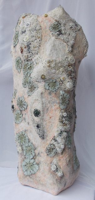 Beausoleil Saracen mixed media sculpture