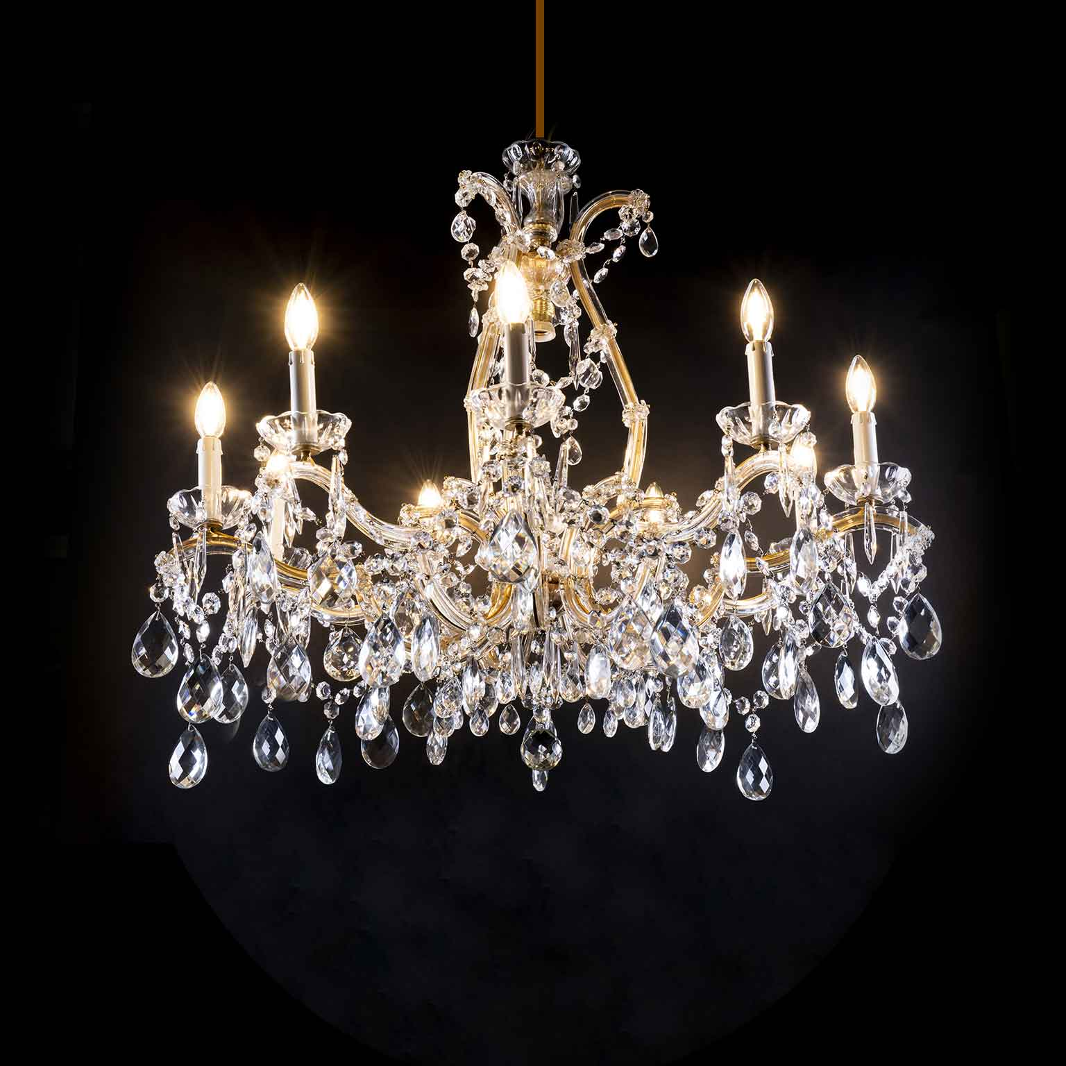 115187 cristal bohemian light ctrystal chandelier 6 luci. Lampadario In Cristallo Di Bohemia Maria Teresa 10 Luci