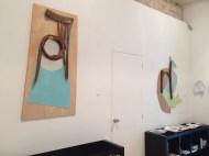Vue d'exposition, galerie Jacques Lévy, Paris, 2018